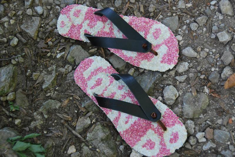 Womans flip flops