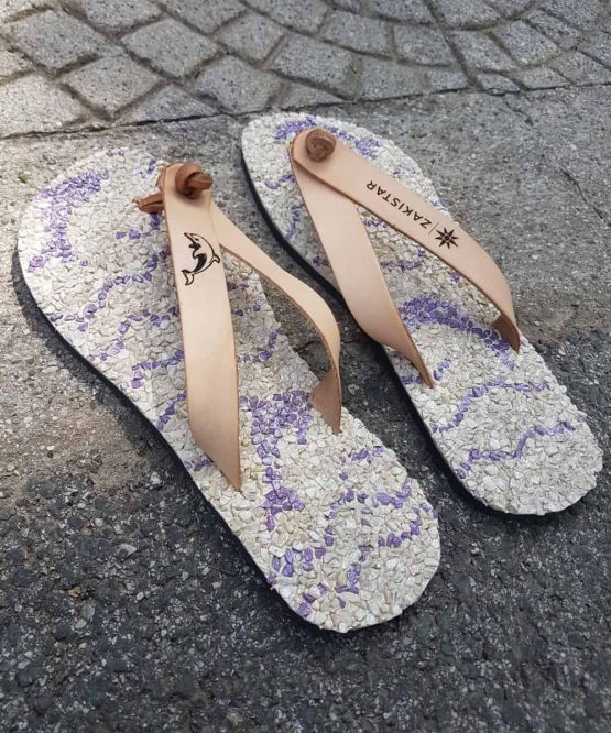 custom flip flops for Lara