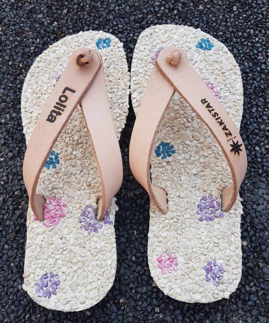 custom flip flops for Lolita