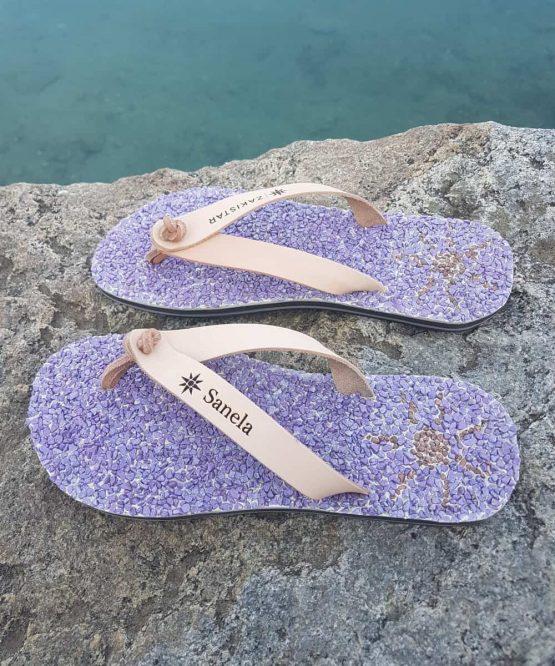 Custom flip flops For Sanela