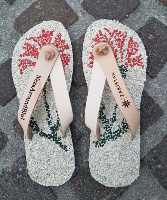 Custom flip flops for Neza