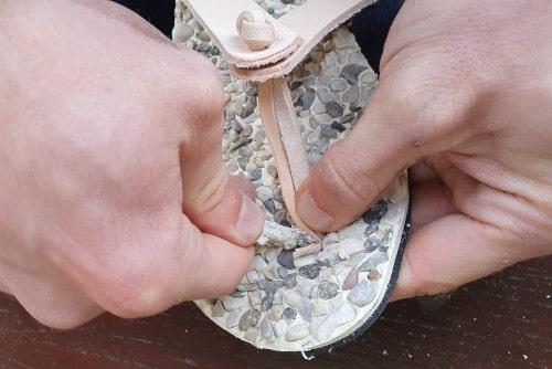 flip flops making