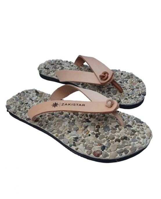 natural flip flops
