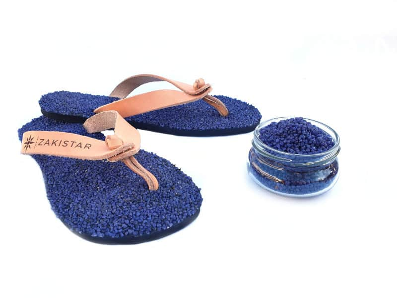 natural flip flops that masssage